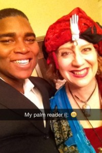 Laura E. West, Fortune teller & Murder Mystery Company, Actor Darian Embry