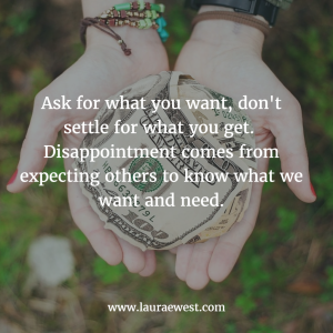 Ask for what you want