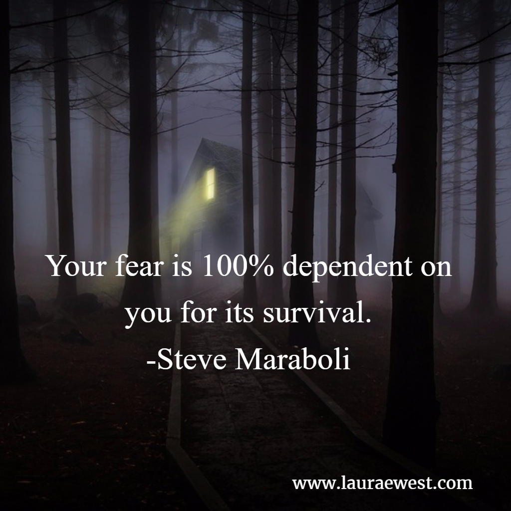 fear depends on you