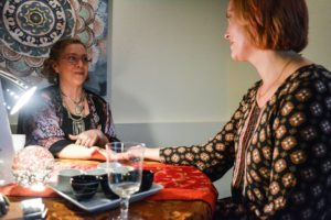 Laura E. West Fortune-teller at Prana Haven, Richardson, TX