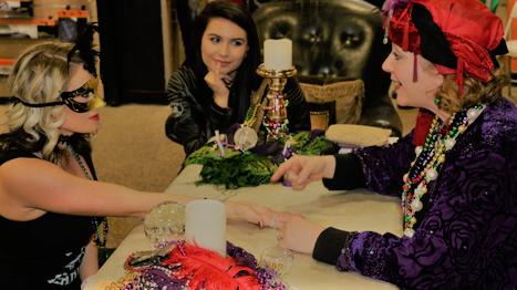 palmistry, psychic, tarot entertainment